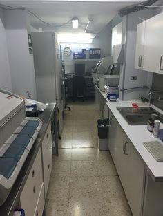 Laboratorio de LGS  en Hospital Santa Cruz.
