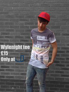Joffa Wylenight tee £15 small, medium an large only from joffa.co.uk