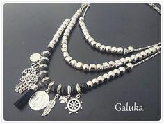 Collares De Moda 2016 - $ 230,00 #collaresdebisuteria #collaresargentina #collaresplata #lindoscollares #collaresplata #collarestiendas