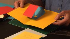 This tutorial explains how to make a pop-up mechanism that has an intriguing twisting action as the page is opened and closed.