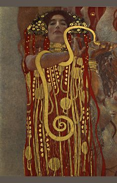 Hygeia in 'The Medicine',  Gustav Klimt