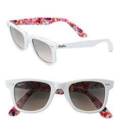 Designer wayfarer sunglasses
