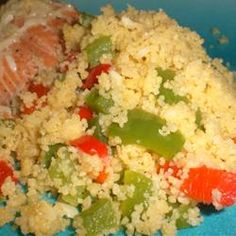 This sounds good with the suggestions found in the reviews.... Christmas Couscous Allrecipes.com