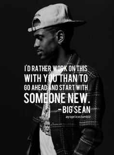 Hip Hop and Rap quotes from some of the greatest emcees to touch the mic. Rap Song Lyrics, Song Lyric Quotes, Rap Songs, Music Quotes, Good Life Quotes, New Quotes, Quotes To Live By, Big Sean Quotes, Big Sean Lyrics