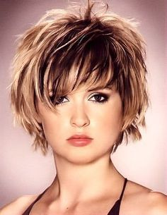 Short Hairstyles For Thick Hair, Haircuts For Fine Hair, Short Hair Styles Easy, Hairstyles Over 50, Medium Hair Styles, Curly Hair Styles, Cool Hairstyles, Bob Haircuts, Hairstyles 2016