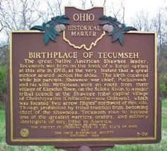 Image detail for -county ohio the american midwest great lakes birthplace of tecumseh