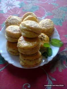 Slaninkové pagáčiky starých mám. Pancakes, French Toast, Muffin, Appetizers, Cookies, Breakfast, Fit, Desserts, Crack Crackers