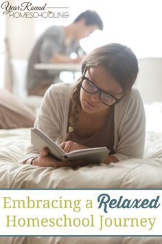 Embracing a Relaxed Homeschool Journey - By Misty Leask