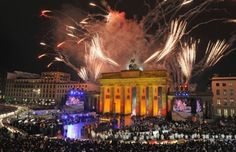 Happy New Year 2015 Brandenburg Gate Berlin - The 9 Best Places to go for New Year's Eve.