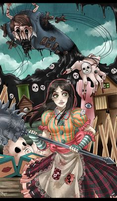 Dollhouse Terror by Berylunee on deviantART - Alice Madness Returns