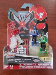 Hot New Toy Power Rangers Super Megaforce Legendary Ranger Key Pack | eBay