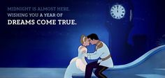 Midnight is almost here. Wishing you a year of Dreams Come True #disney #cinderella #assepoester