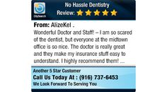 Wonderful Doctor and Staff! – I am so scared of the dentist, but everyone at the...