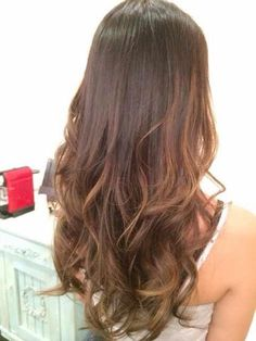 Balayage on asian hair done at &Hair Lounge