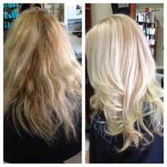 Olaplaex has a board! Check out more before and afters. Before and after with Olaplex!