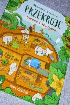 Maluszkowe inspiracje: Przekroje, czyli jak przekonać dziecko do warzyw i...