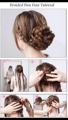 5 Minute Hairstyles #Beauty #Trusper #Tip