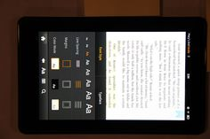 How to change Kindle Fire settings