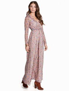 Boho Long Print Dress