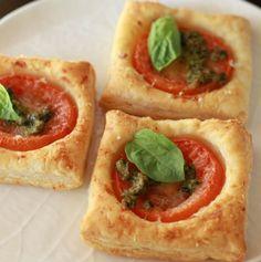 tomato pesto tarts