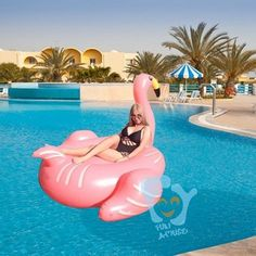Hot Summer Pool Toy Giant Inflable Flamingo Water Float For Adult 1.9m 75 inch Ride On Pool Toy Inflatable Swim Ring