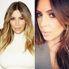 Kim Kardashian - New Hair 2014: See Celebrity Hair Makeovers! - Hair - InStyle.com