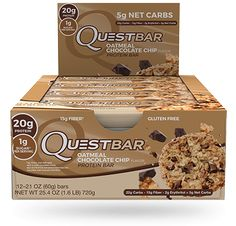 Decadent chocolate chunks,  chewy bits of oatmeal, and 20g of protein transform the oatmeal cookies of your cheat day fantasies into an every-day protein-packed reality!<br><br>