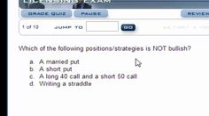 Series 7 Training: Securities Training Corporation Video Blog 1: Approaching Questions About Options