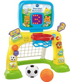 VTech Smart Shots Sports Center is one of best outdoor play toys for toddlers! Toddler sports toys are great for active play. 1 Year Old Christmas Gifts, Christmas Toys, Toddler Christmas, Amazon Christmas, Christmas 2015, Toddler Toys, Baby Toys, Toddler Sports, Baby Baby