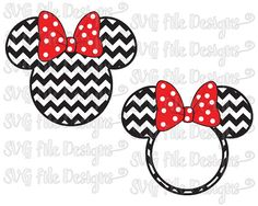 This is a digital download of a Minnie Mouse Chevron Monogram cutting file. With this purchase, you will receive a zipped folder containing this image in SVG, DXF, EPS, and JPEG form, suitable for use in Cricut Design Space, Sure Cuts A Lot, Make The Cut, and the Silhouette Basic and/or Designer Edition. Please note that the monogram lettering in the listing photograph is an example of what you can do with the file and is not included in your purchase.  All copyrights and trademarks of the…