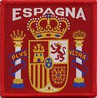 Espagne Spain Retro 80's / 90's Football Badge Patch 7.1cm x 7.1cm Square http://www.wovenbadge.com/