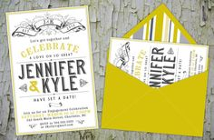 Engagement Party Invitations by PlatypodeAlamode on Etsy, $2.50