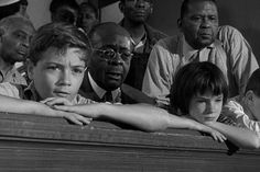 """Best scene of the movie:  """"Stand up, Miss Jean Louise.  Your father is passing."""""""