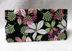 Handmade Fabric Checkbook Cover by humblehrtdesigns on Etsy, $8.00