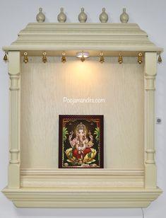 Pooja Mandirs USA - Vishaka Collection - Wall Hanging Mandirs Wooden Temple For Home, Pooja Mandir, Swami Vivekananda, Pooja Rooms, New Homes, Usa, Wallpaper, Frame, Quotes