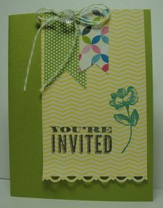 Klompen Stampers (Stampin' Up! Demonstrator Jackie Bolhuis): You're Invited.....