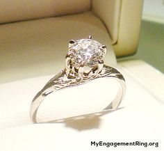 antique ring for engagement - My Engagement Ring