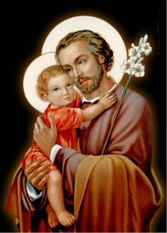 Blessed are you St. Joseph, witness of the glory of God here on earth! Blessed and glorified be God who chose you! Blessed and glorified be the Son who obeyed you! Blessed and glorified be the Holy Spirit who sanctified you! Most Blessed be Mary who loved you!
