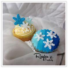 Cupcakes winter pleasure Knitting Cake, Fabric Flowers, Cake Pops, Headbands, Cupcakes, Winter, Desserts, Handmade, Food