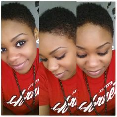 Twa , big chop , natural hair ♡