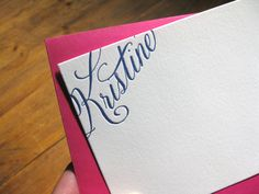 This has me coveting some personalized stationery.