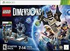 LEGO Dimensions Starter Pack - Xbox 360 New
