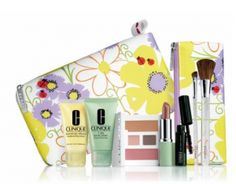 Macys: Clinique Bonus Time! Get 6-piece gift and brush set FREE w/ $25 purchase!