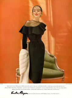Photo by John Rawlings, Harper's Bazaar, September 1950