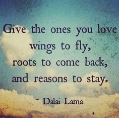 Words of wisdom.