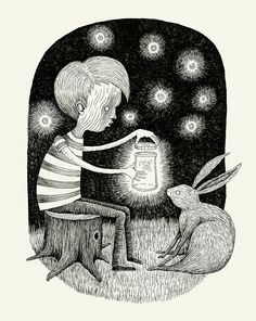 Save Your Light - Alex G Griffiths Illustration