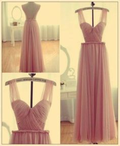 nude chic pink dress