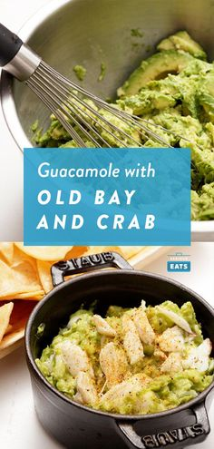 The flavors of Maryland and Mexico meet in this Old Bay-inflected variation garnished with jumbo lump crab meat. Meat Appetizers, Appetizers For Party, Appetizer Recipes, Maryland, Gluten Free Puff Pastry, Crab Recipes, Lump Crab Meat Recipes, Pasta, Serious Eats