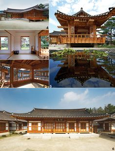 Korea House Layout Plans, House Layouts, Korean Traditional, Traditional House, Asian Design, Korean Design, Beautiful Architecture, Architecture Design, Quonset Hut
