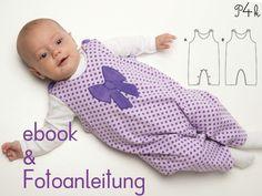 Schnittmuster Baby Overall Plinio in 2 Varianten